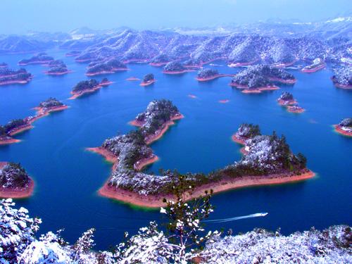 千岛湖--黄山尖